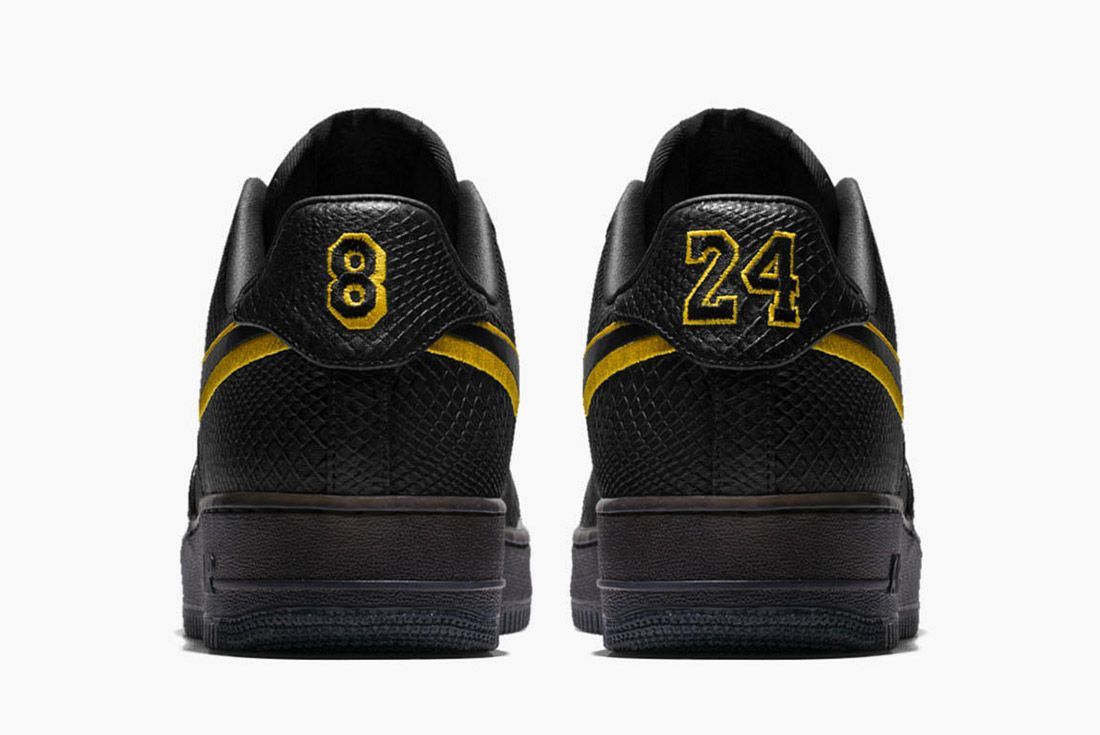 Nike Air Force 1 Kobe Black Mamba 2