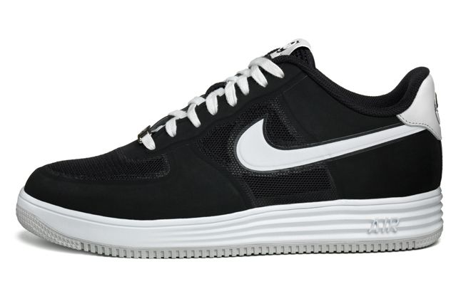 Nike Lunar Force 1 Medicom Black Profile 1