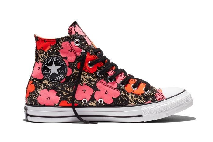 Converse Chuck Taylor All Star Andy Warhol Floral Pair 4