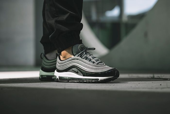 Nike Am97 Black Patent 1
