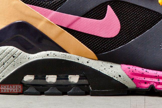 Nike Air Max Terra 180 Black Pink Foil Gridiron 3 Det