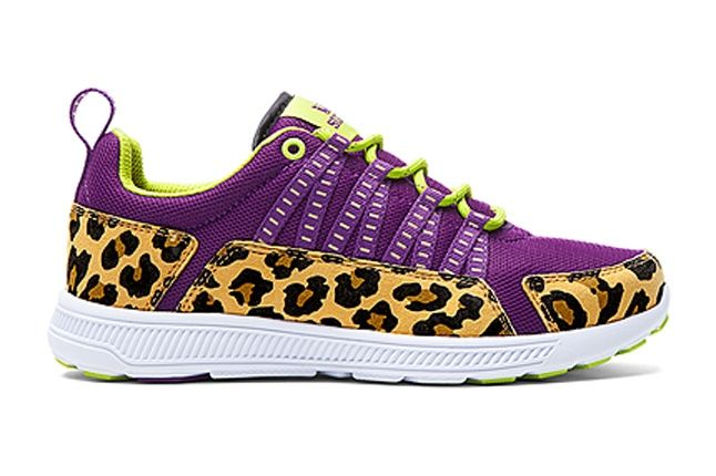 Supra Owen Womens Purple Cheetah 1