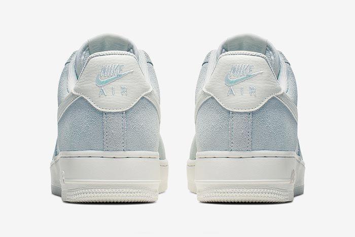 Nike Air Force 1 Ghost Aqua Heels