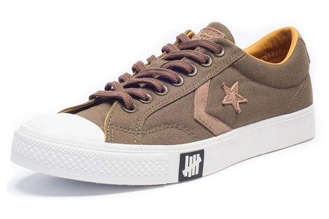 Undefeated Converse Lo Brown Quater Toe 1