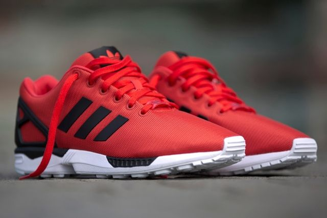 Adidas Zx Flux Poppy Red 2