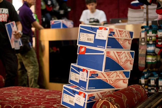 Sneaker Freaker X New Balance 998 Tassie Devil Limited Edt Launch Devil Boxes 1