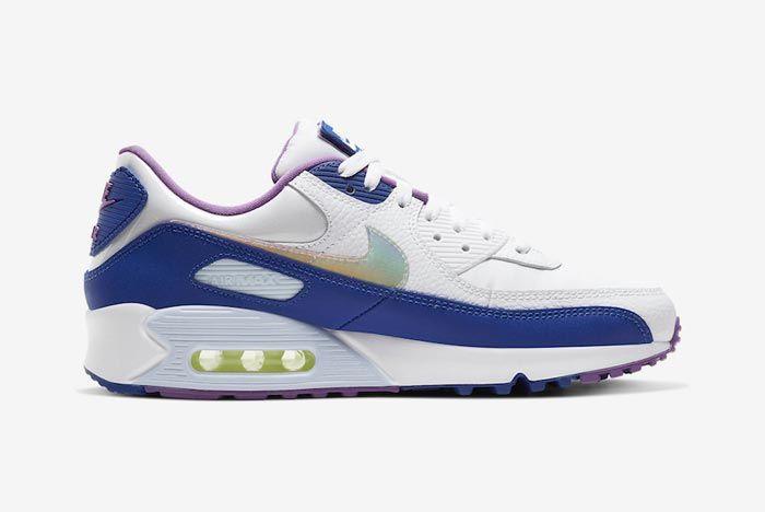Nike Air Max 90 Easter Blue Medial