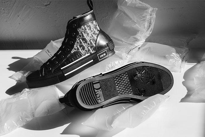 Dior B23 All Black Sole Shot 7