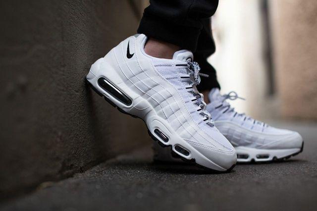 Nike Air Max 95 Pure White Black 5