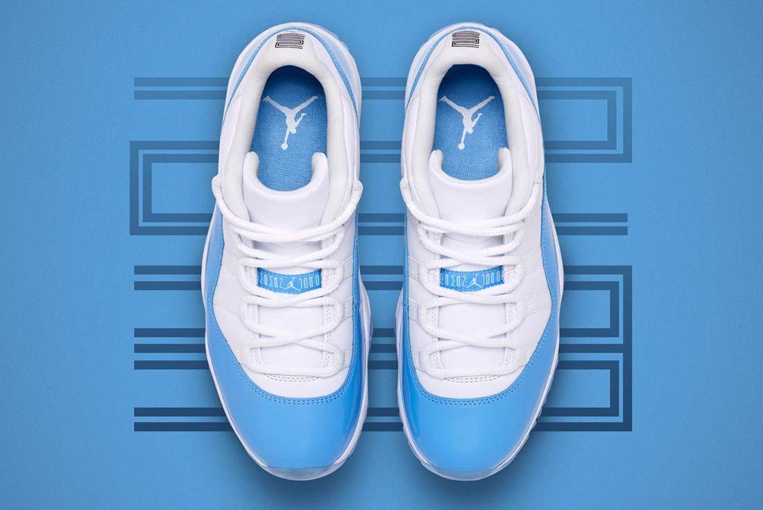 Air Jordan 11 Low University Blue 8