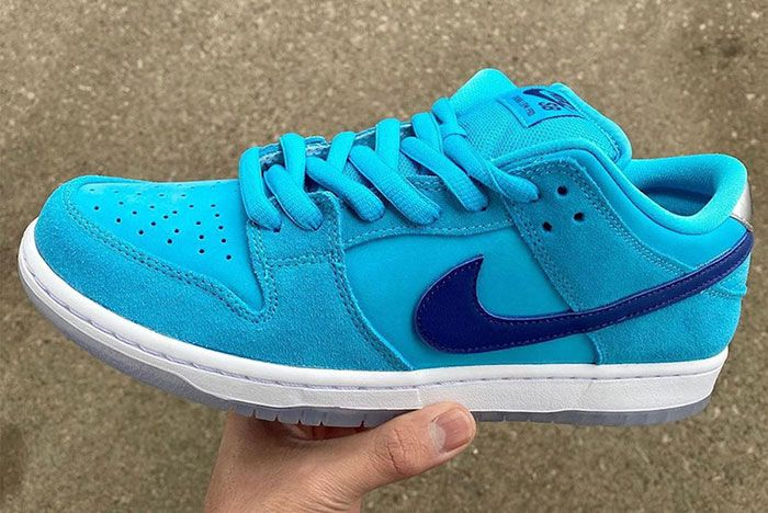 Nike Sb Dunk Low Blue Furry Bq6817 400 Release Date Leak