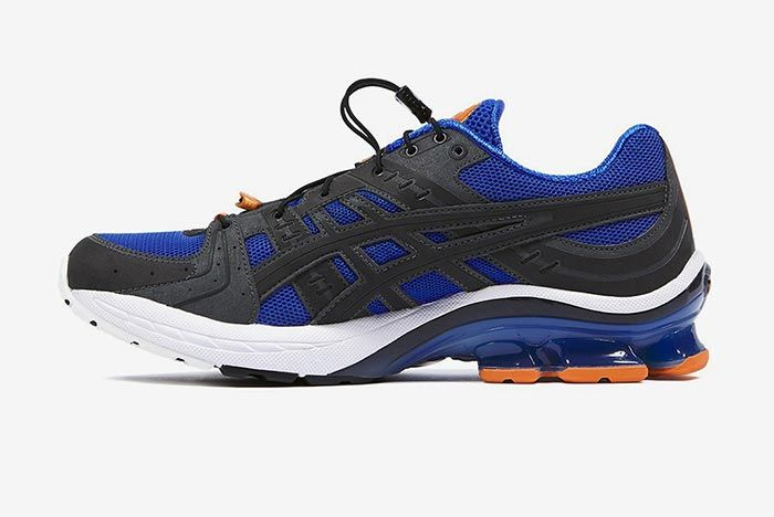Affix Works Asics Gel Kinsei Blue Medial Side Shot