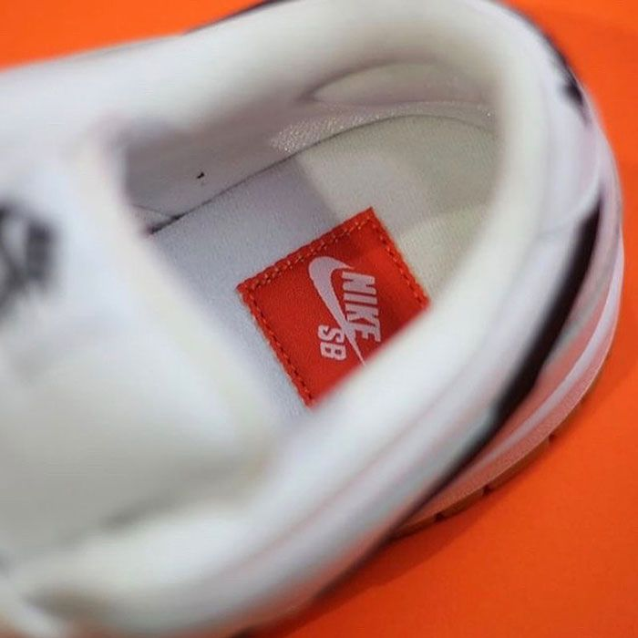 Nike Sb Dunk Low Orange Label White Insole