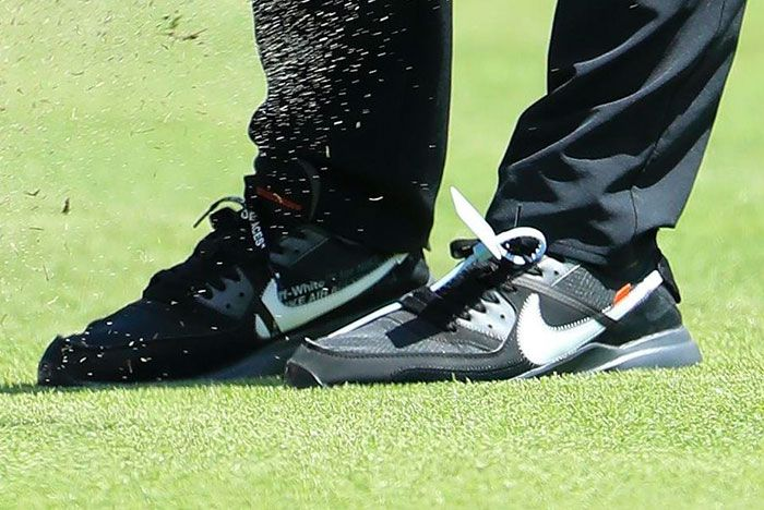 Brooks Koepka Off White Nike Air Max 90 Golf 1