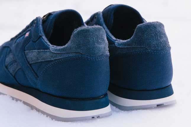 Sneakersnstuff X Reebok Classic Heel Detail 1