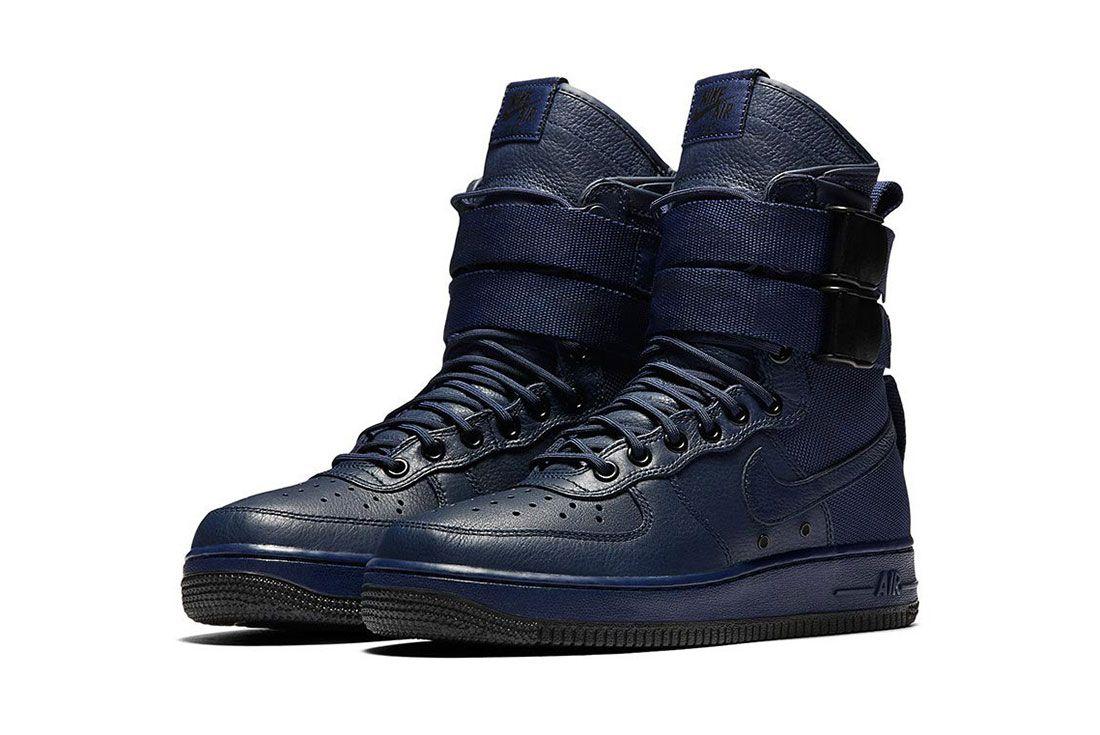 Nike Sf Air Force 1 Wmns Binary Blue1
