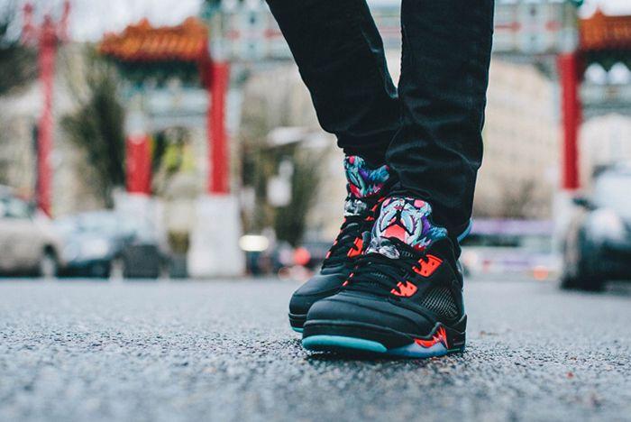 Air Jordan 5 Low Chinese New Year2