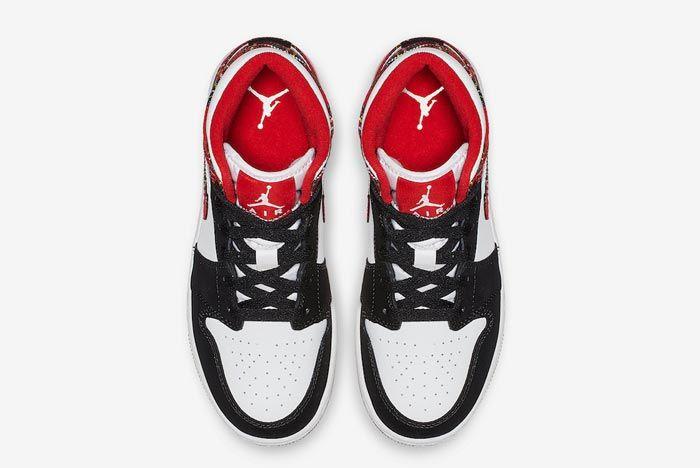 Air Jordan 1 Mid Plaid 4