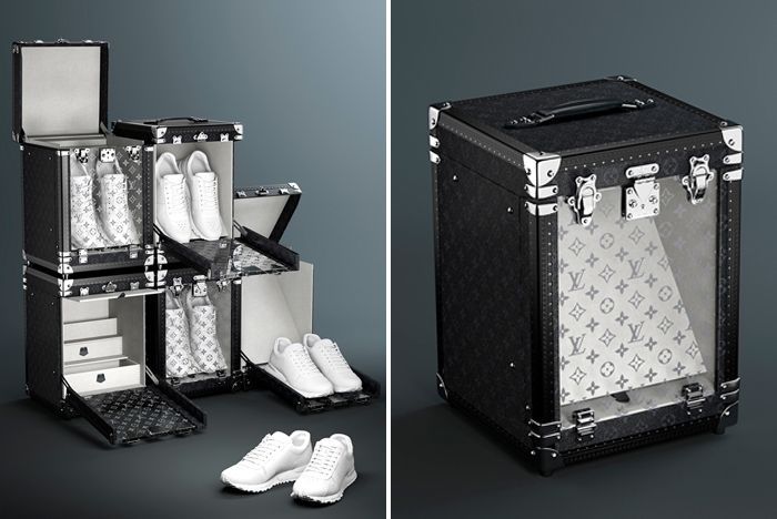 Louis Vuitton Sneaker Box Stacked