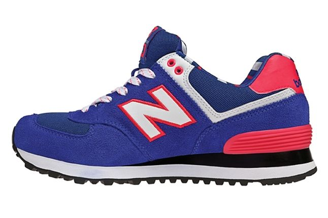New Balance 574 The Yacht Club Collection Blue Profile 1