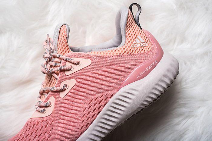 Adidas Alphabounce Pink Womens 4