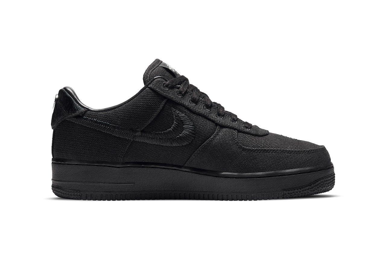 Stussy Nike Air Force 1 Black