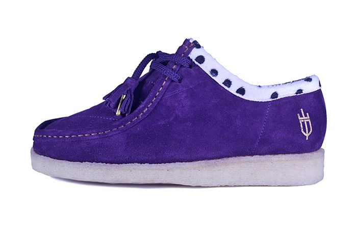 Kwills Padmore Barnes Wallabee Coronation Purple Release Date Lateral