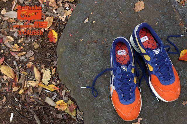 Mita Sneakers Onitsuka Tiger X Caliber Tequila Sunrise 2