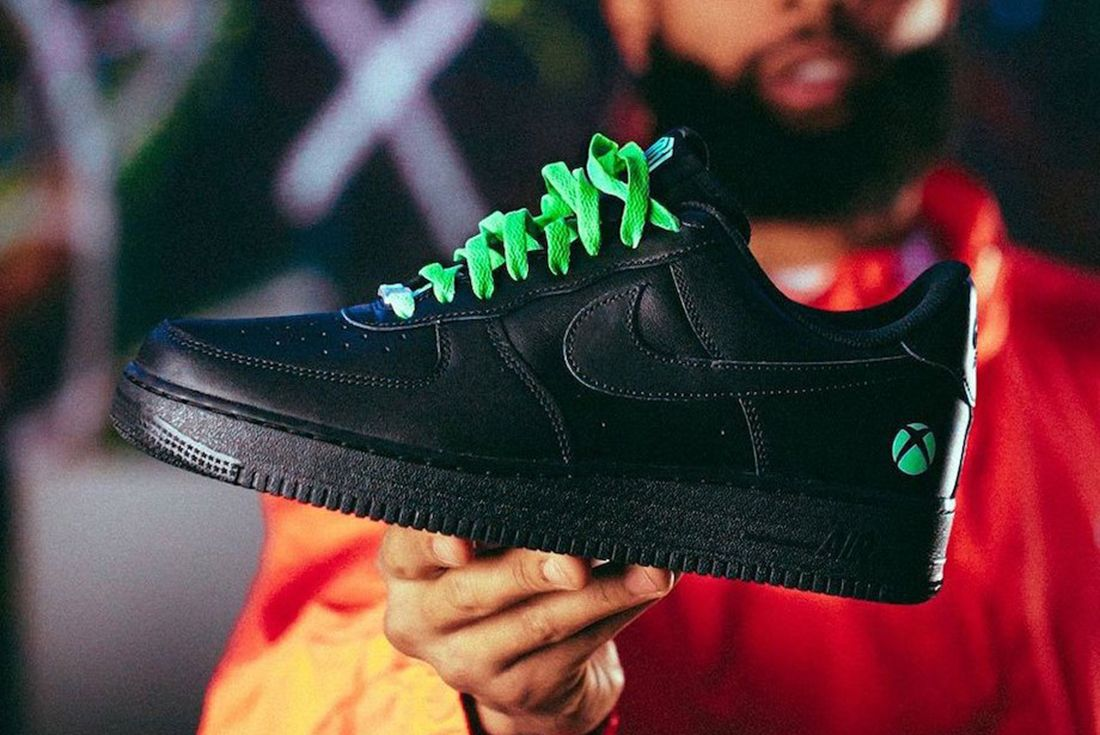 Odell Beckham Jr.'s One-of-One Xbox x Nike Air Force 1