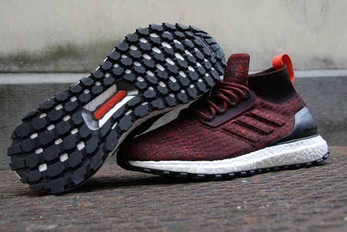 Adidas Ultraboost Mid Atr Burgundy 5