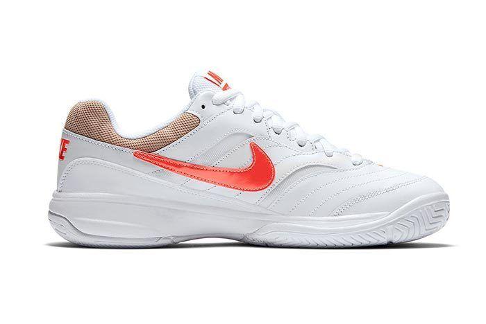 Nikecourt Court Lite Orange And Tan 1