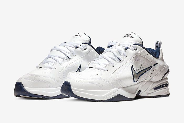 Nike Air Monarch Martine Rose White At3147 100 Release Date 4