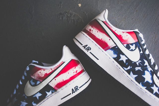 Nike Air Force 1 Independant Day Bumper Bump 2