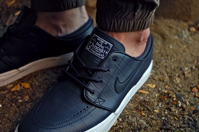 Nike Sb Janoski Qs Blue Croc 4