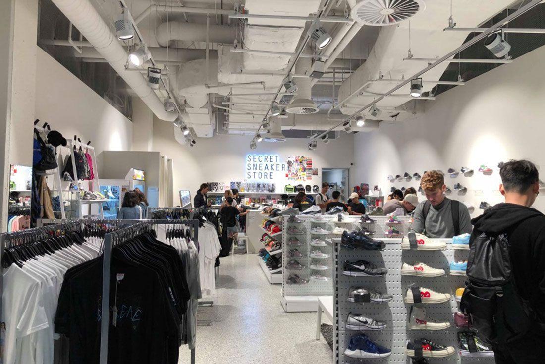 Secret Sneaker Store Melbourne Central2