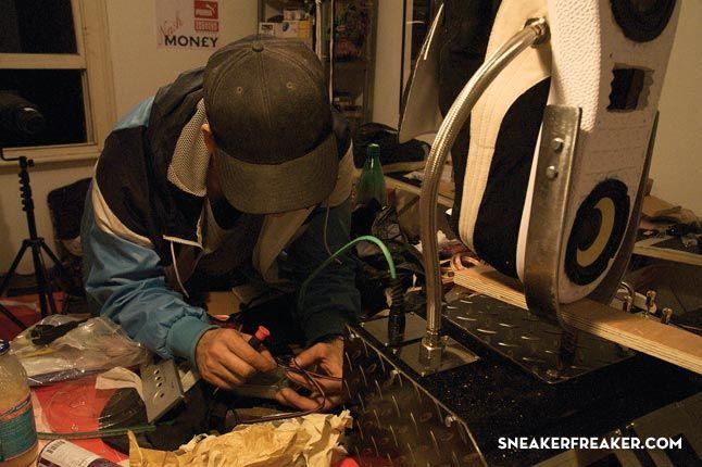 Doom Sneaker Speakers Making Of 18 1