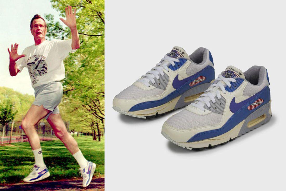 Running For President George Hw Bush Nike Air Pres