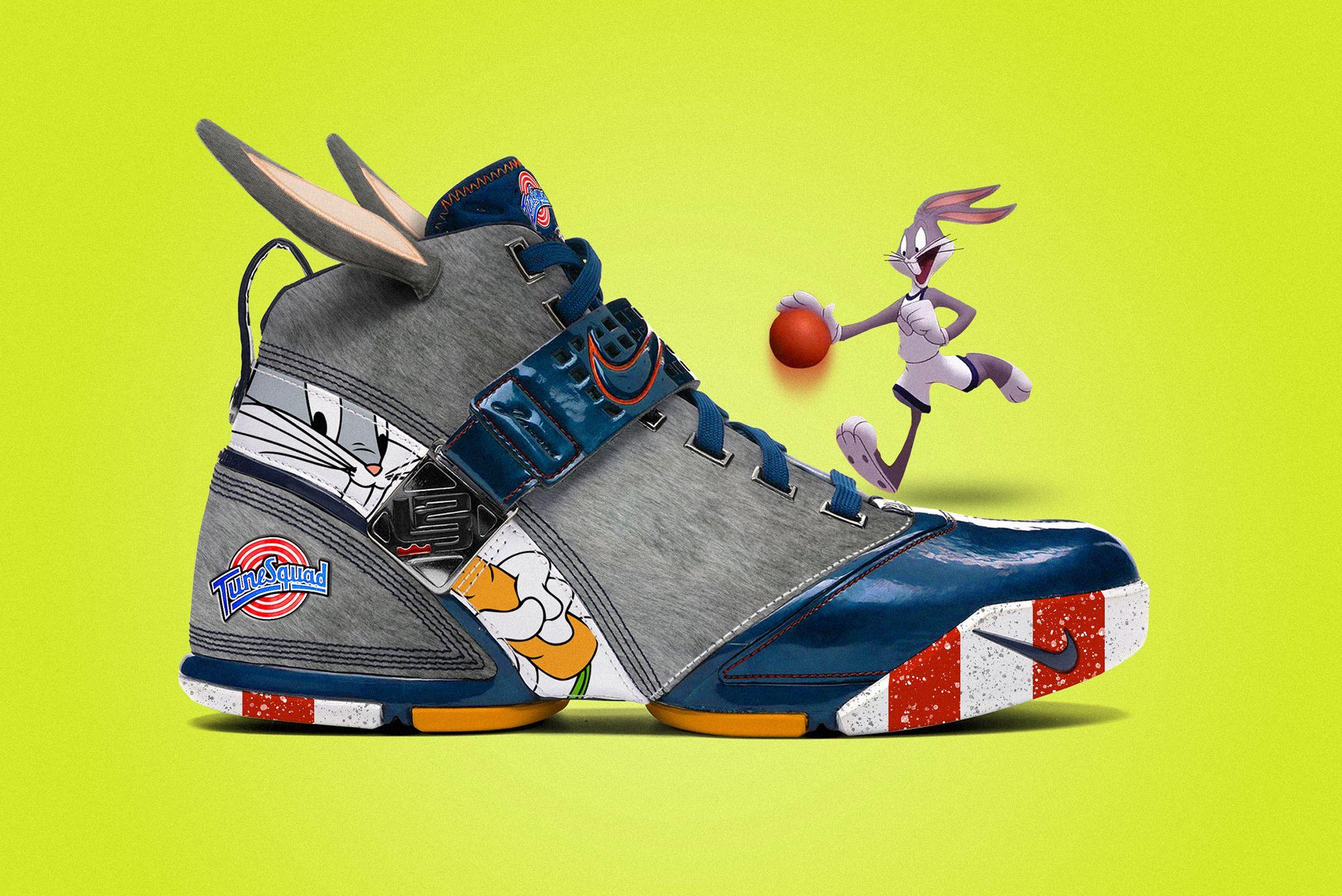 Nike LeBron 5 'Tune Squad: Bugs Bunny'