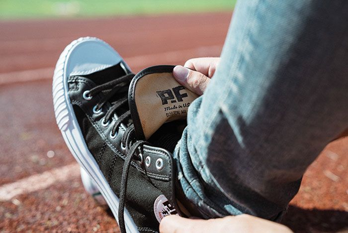 Pf Flyers Made In Use Centre Hi Black 2