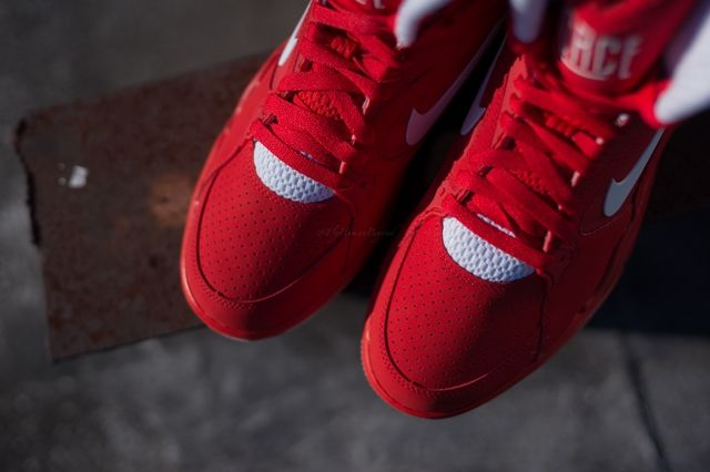 Nike Air Force Command University Red 2