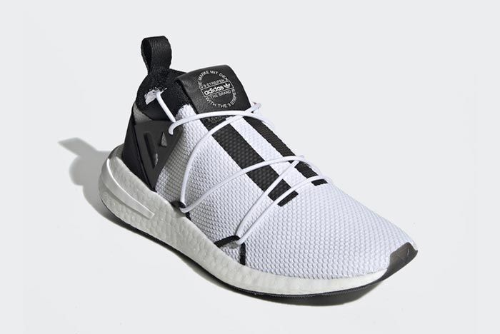 Adidas Arkyn White Black Red Front