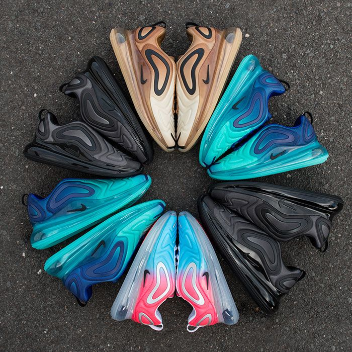 voltereta intelectual Estadio  The Nike Air Max 720 Hits Earth in Four Cosmic Colourways - Sneaker Freaker