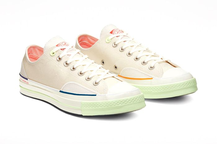 Pigalle Converse Chuck 70 Off White Release Date Pair