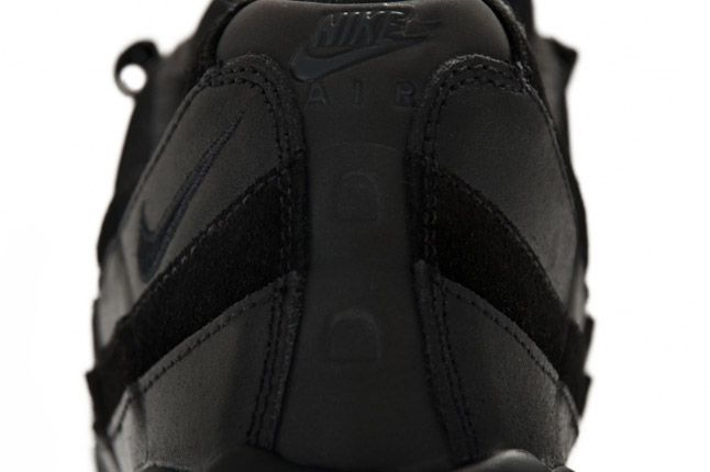 Air Max 95 Premium Black Heel 1