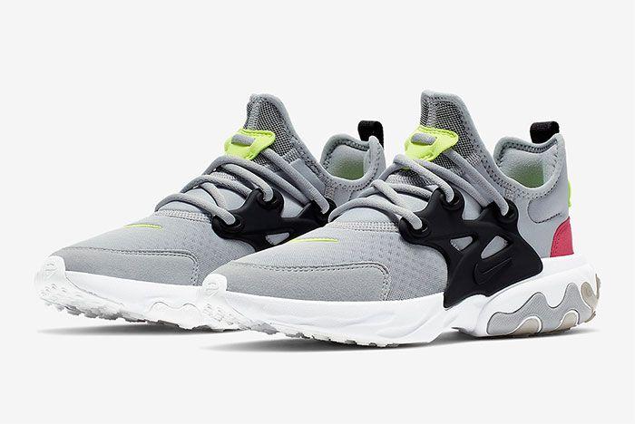 Nike Air Presto React Summer Grey Black