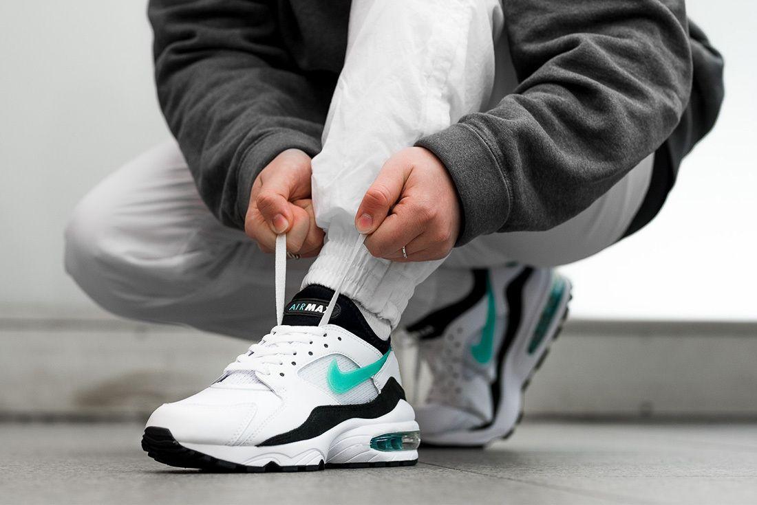 2018 Nike Air Max 93 Retro On Foot Sneaker Freaker 1