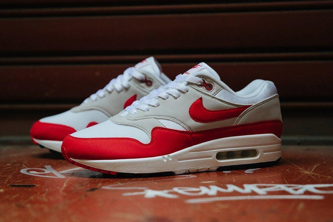 Nike Air Max 1 Anniversary Og Red White 4