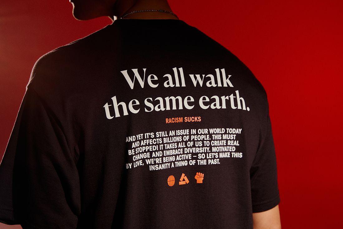 asphaltgold black friday anti-racism campaign