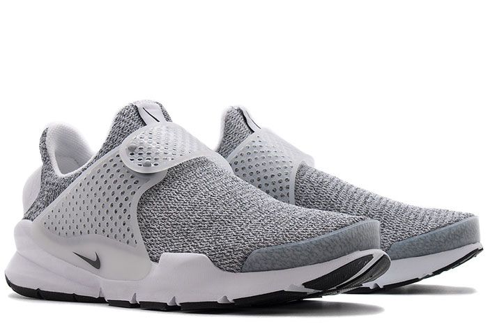 862412100 Nike Womens Sock Dart Se White Black 3