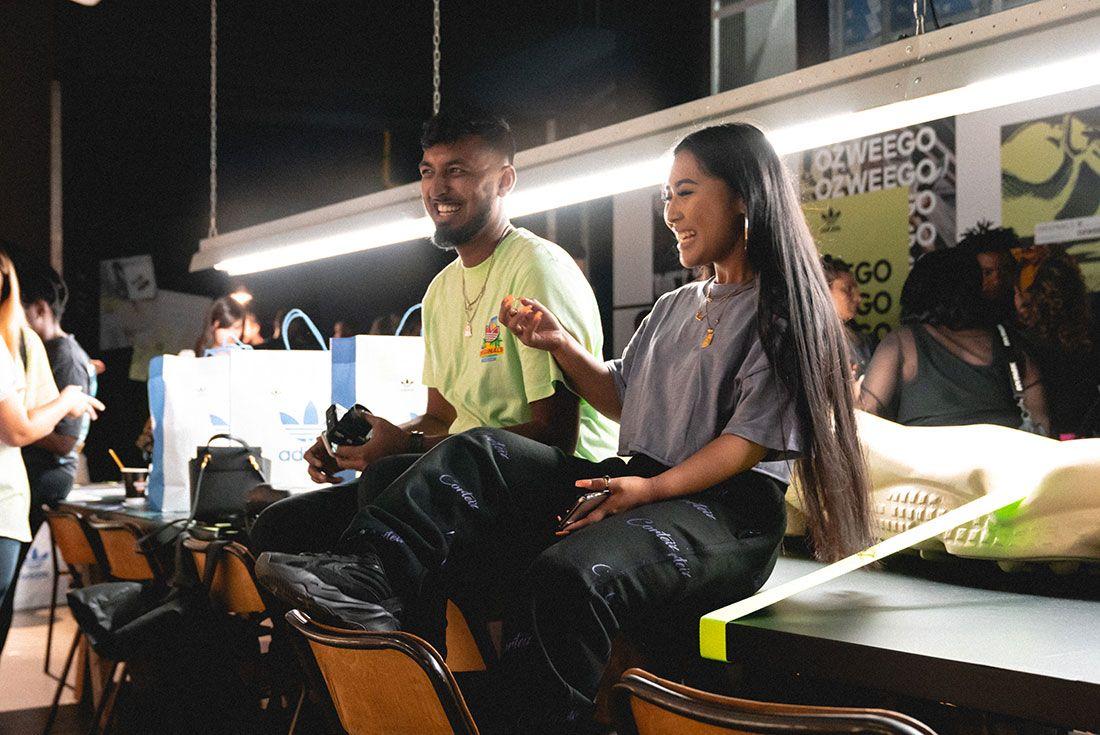 Adidas Ozweego 2019 Sneaker Freaker London Launch Crowd Shot7